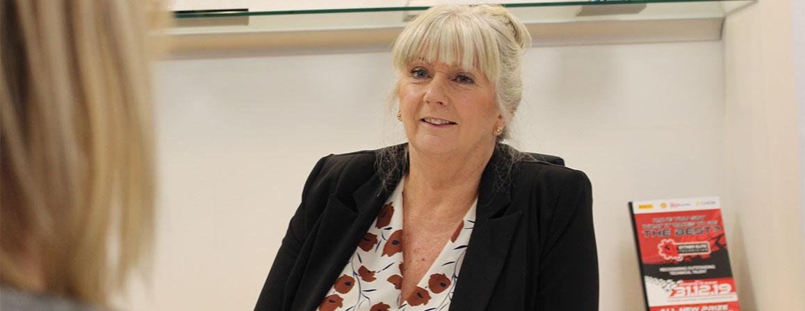 Sue Sansome profile