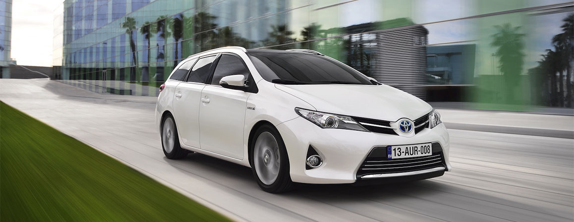 White Toyota