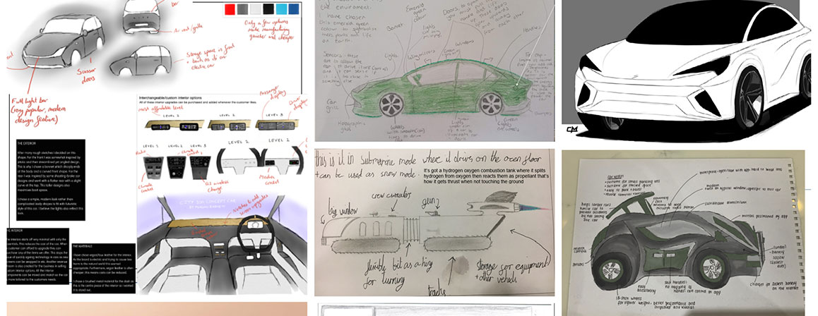 Student Competition Collage